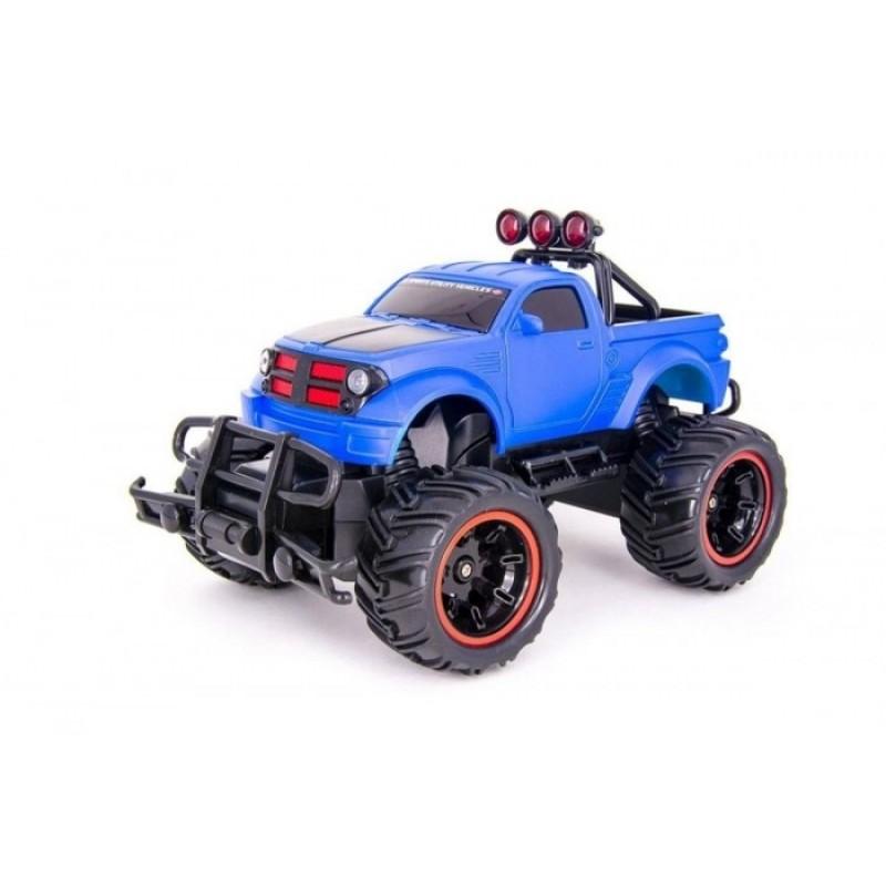 Play Smart Машинка на радиоуправлении Внедорожник Безумные гонки Jeep 9854