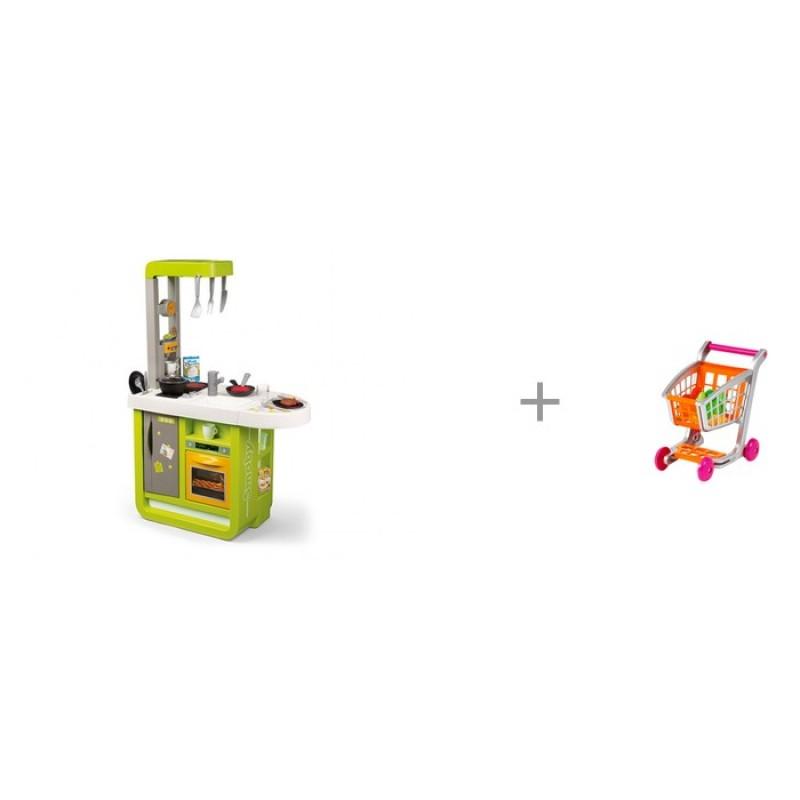 Smoby Кухня электронная Cherry с тележкой 1225