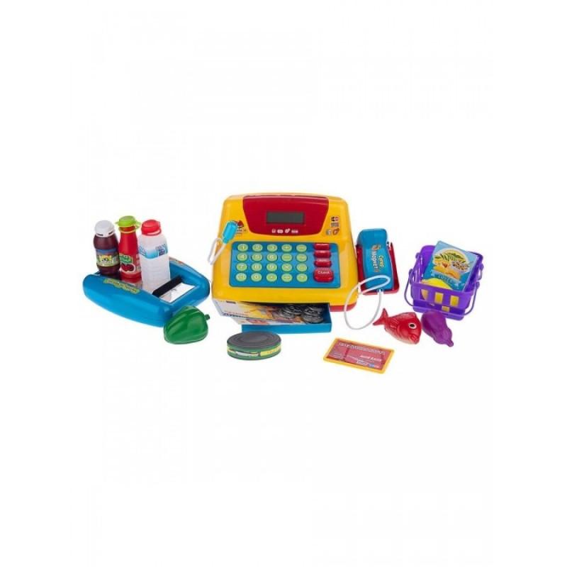 Play Smart Детский игровой интерактивный набор с кассой Мой Магазин (22 элемента)