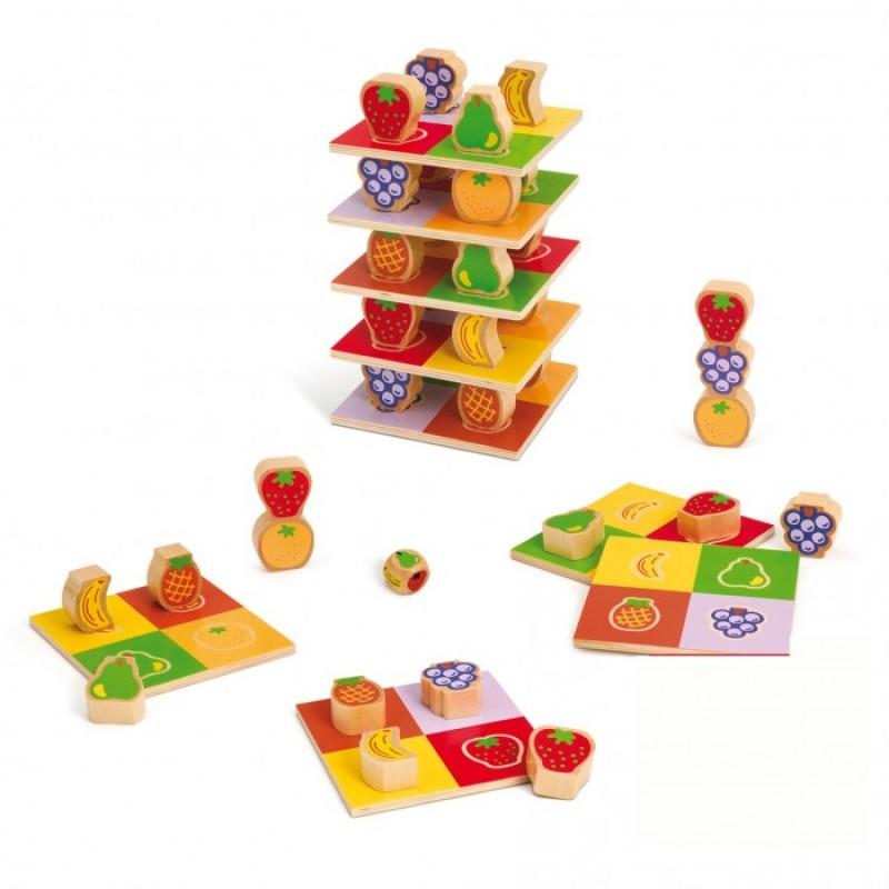 Деревянная игрушка Goula Игра Фруктовая башня