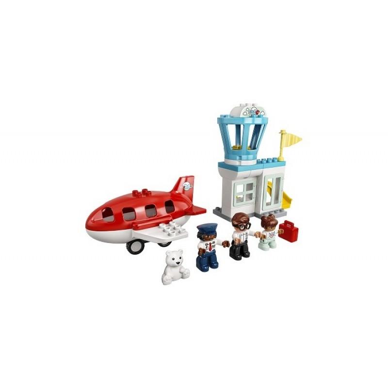 Конструктор Lego Duplo Самолет и аэропорт