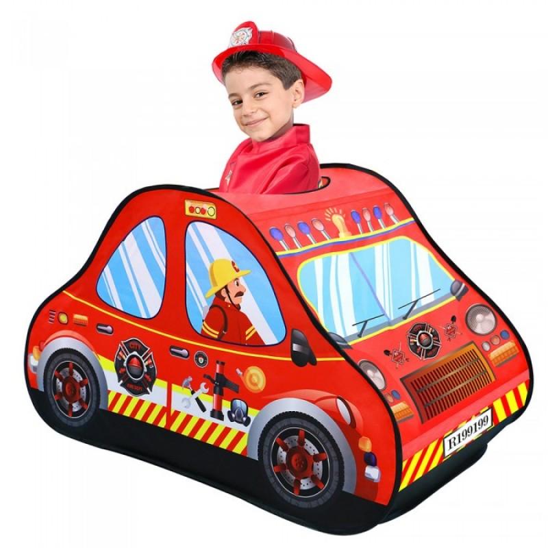 Pituso Дом Пожарная машина + 50 шаров