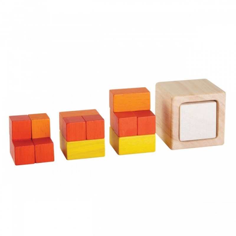 Развивающая игрушка Plan Toys Кубики Дроби