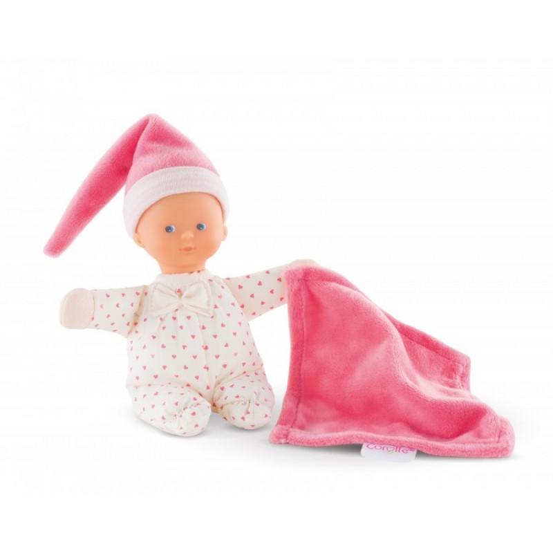 Corolle Кукла Minireve Розовое Сердце с ароматом ванили 16 см
