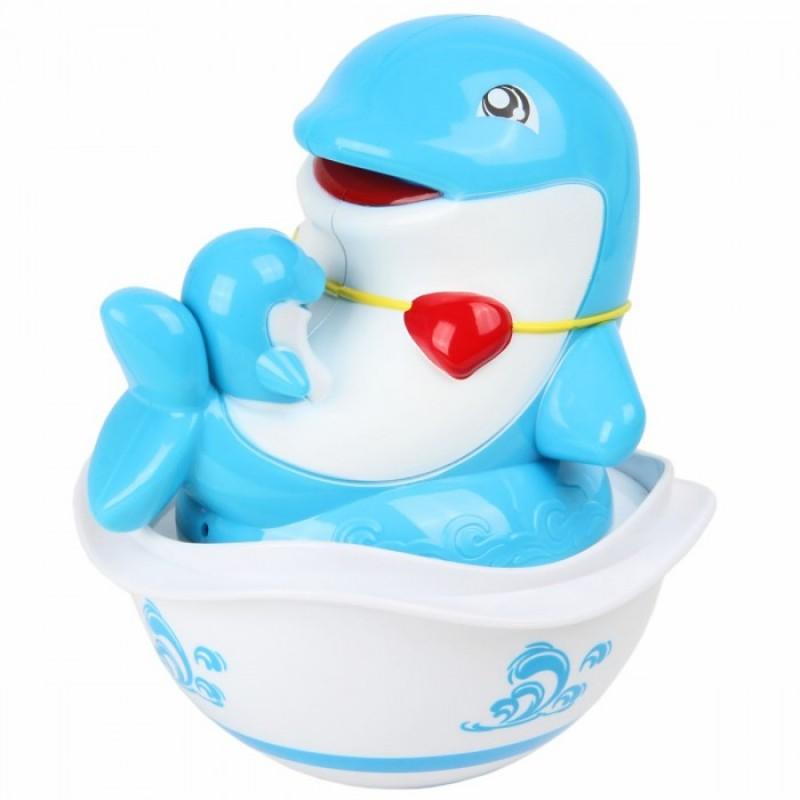 Развивающая игрушка Ути Пути Неваляшка Дельфин