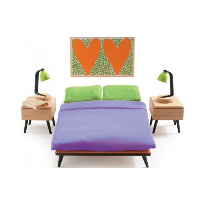 Djeco Мебель для кукольного дома Спальня родителей