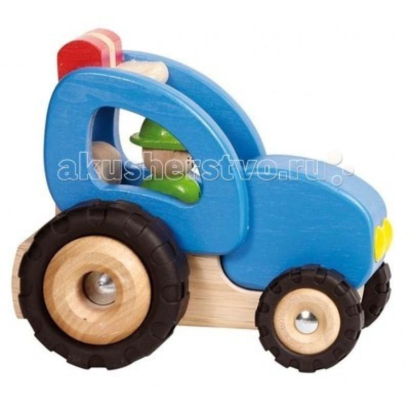Деревянная игрушка Goki Машинка Трактор