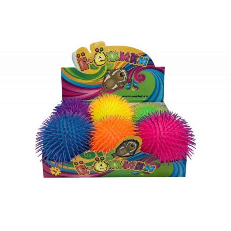 Развивающая игрушка 1 Toy Ё-Ёжики 28 cм