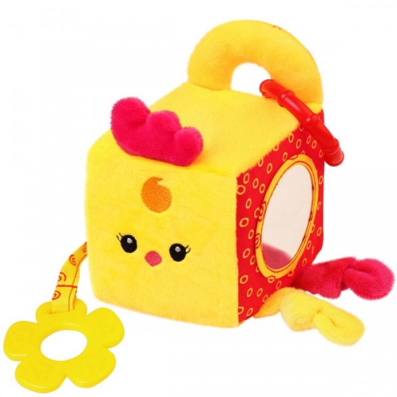 Развивающая игрушка Мякиши кубик Цыплёнок Бро