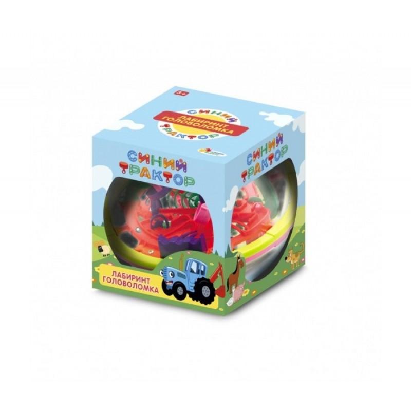 Развивающая игрушка Играем вместе Логическая игра шар-лабиринт