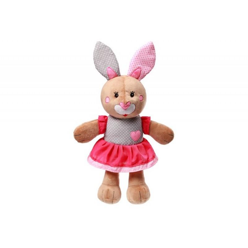 Мягкая игрушка BabyOno с погремушкой Bunny