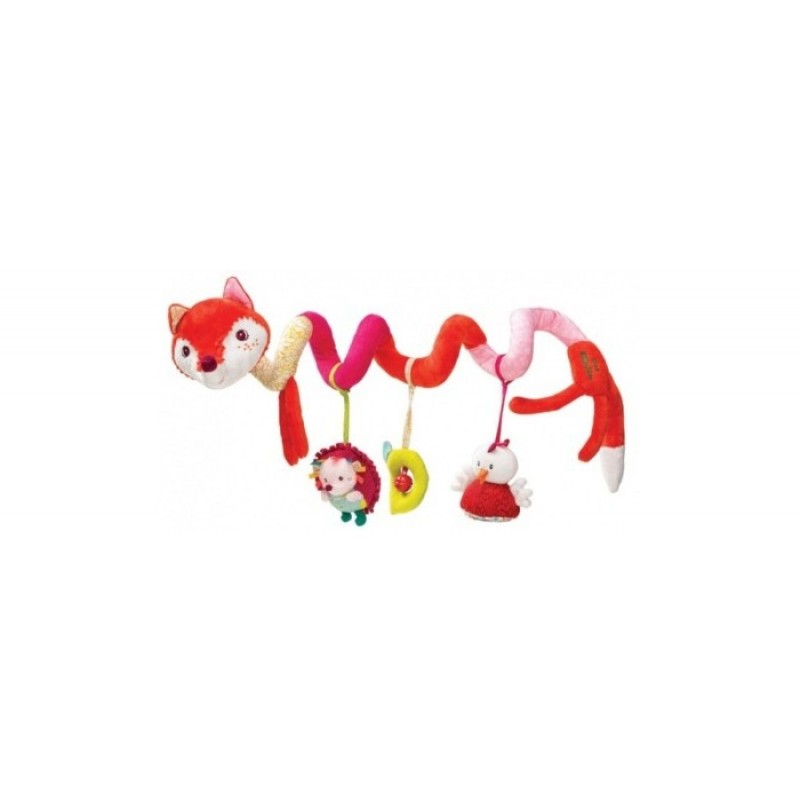 Lilliputiens Лиса Алиса: игрушка-подвес спиральная