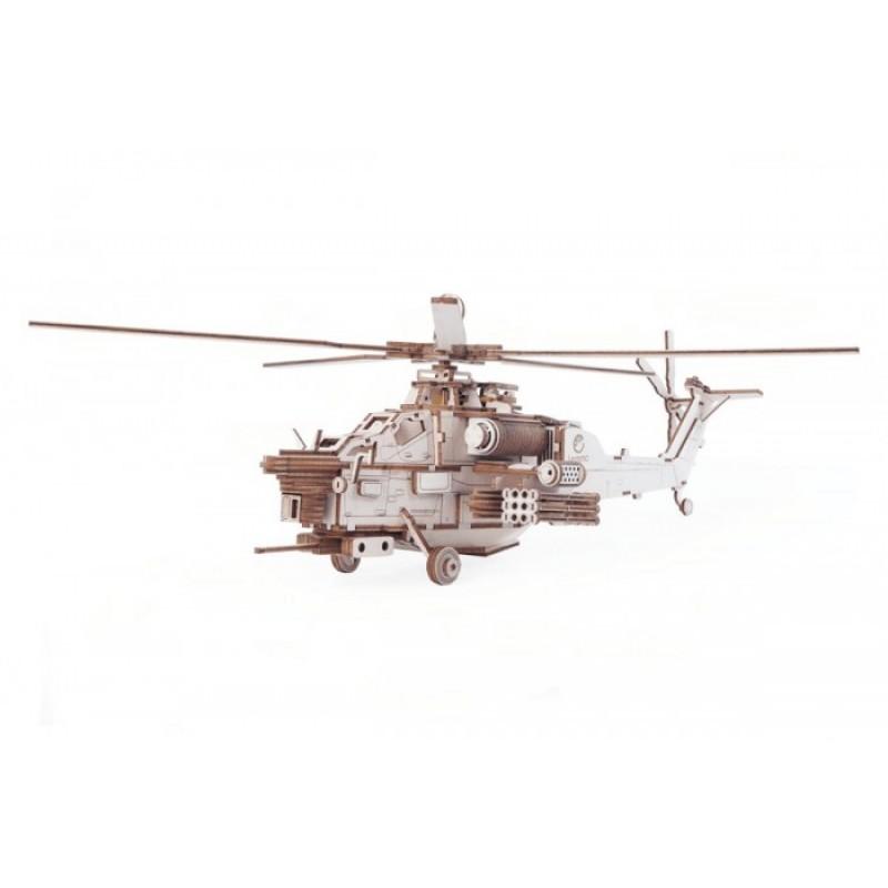 Lemmo Военный вертолет Ночной охотник (241 деталь)