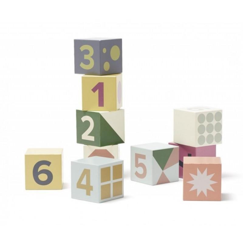 Деревянная игрушка Kid's Concept Кубики с цифрами Edvin