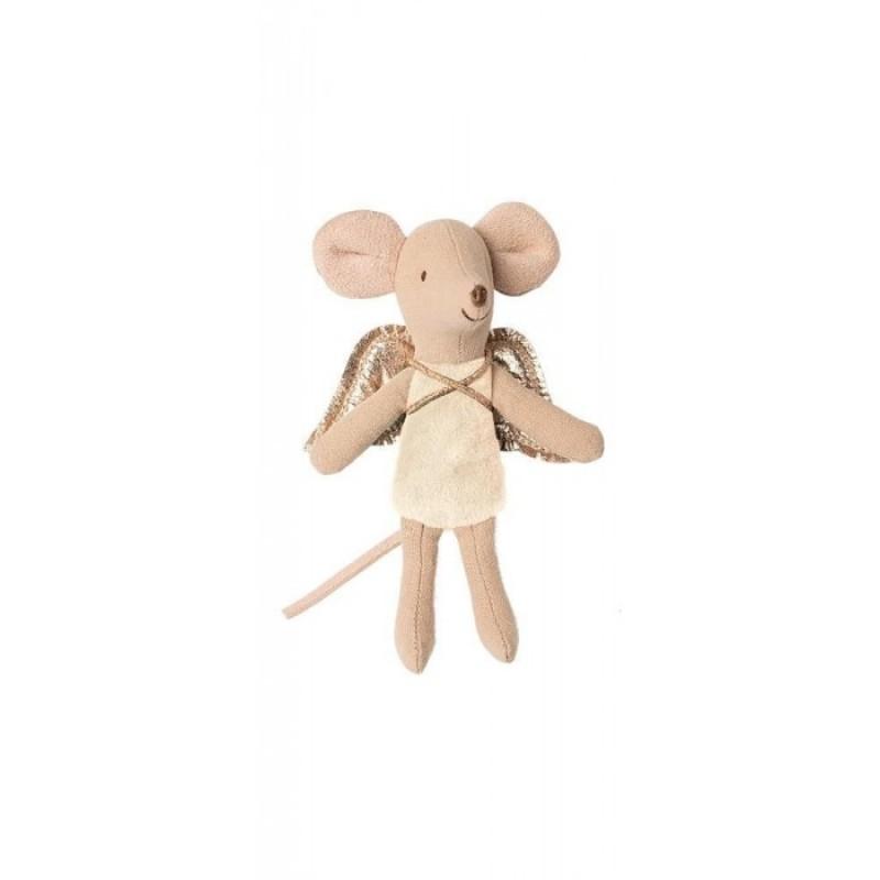 Мягкая игрушка Maileg Мышка младшая сестра Фея 16-0728-00