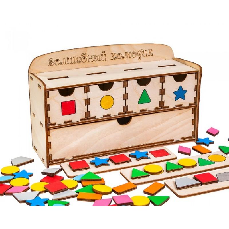 Деревянная игрушка Смайл Декор Волшебный комодик